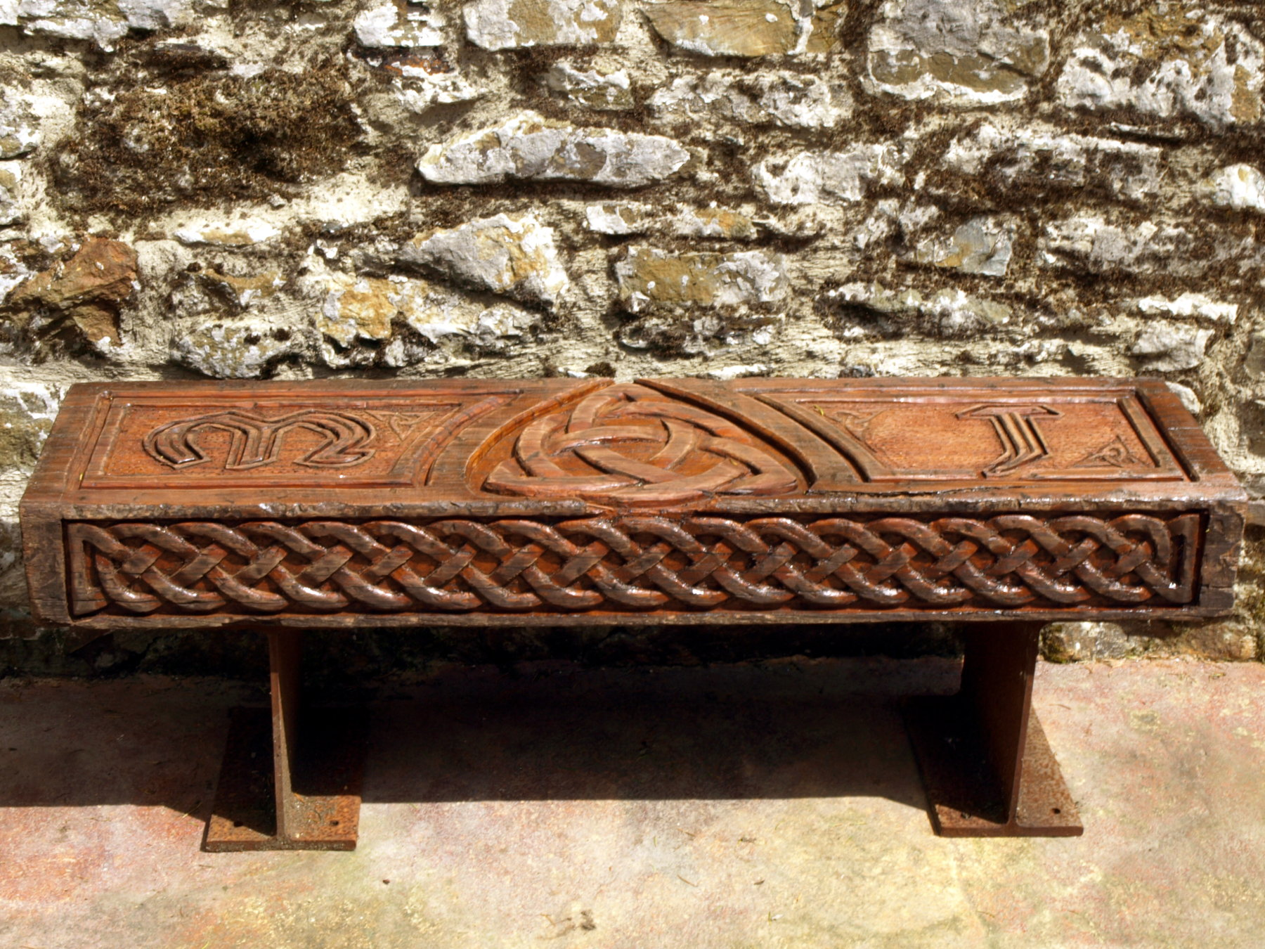 Commissioned garden benches