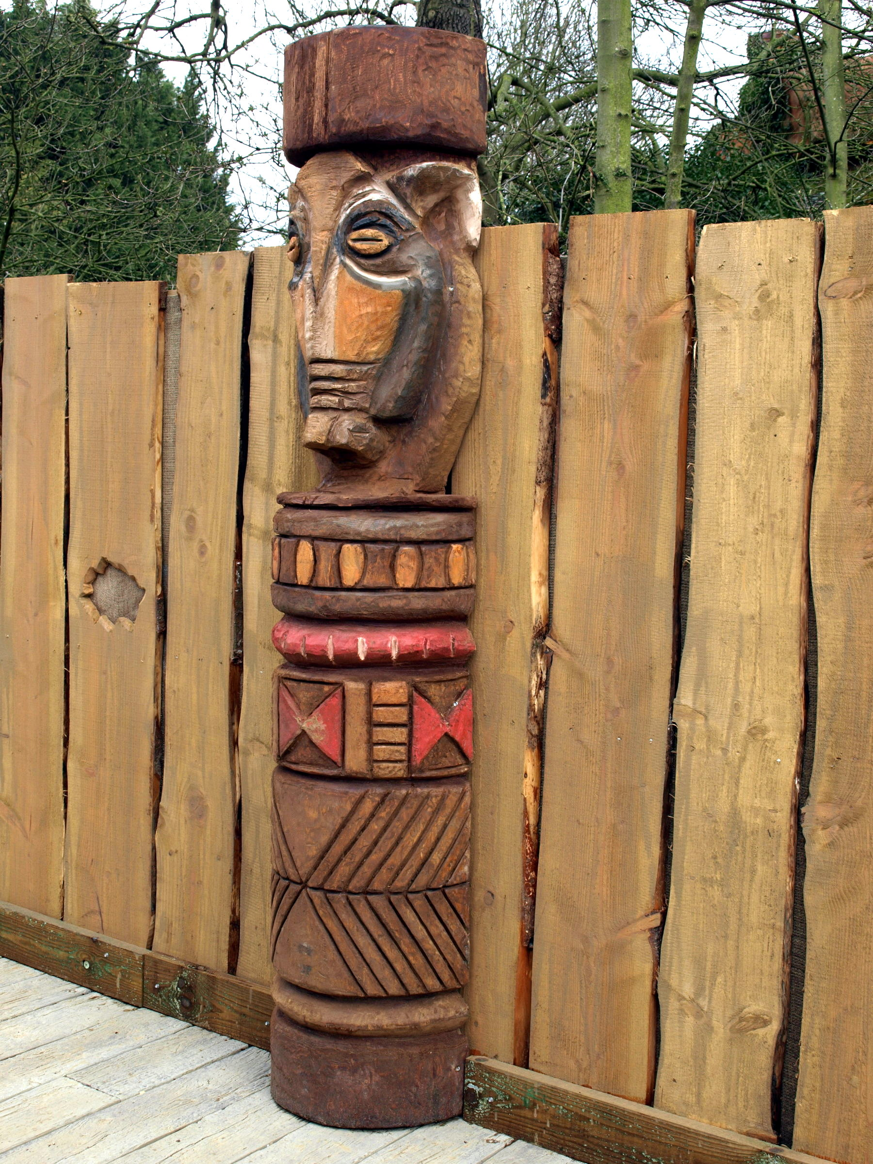 Totem poles zufari chessington