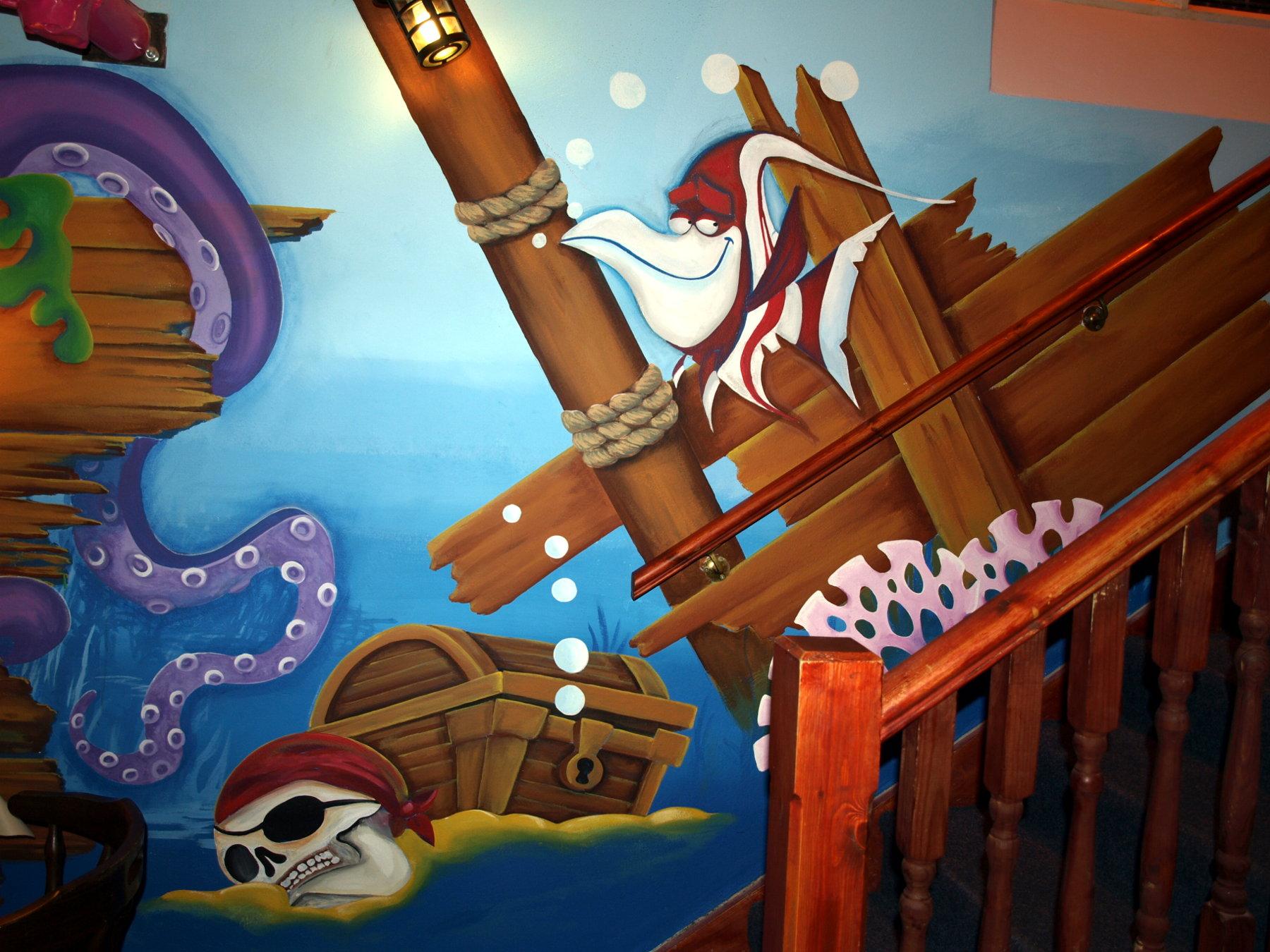 187 Kids Play Space Mural